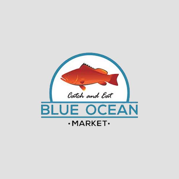 Blue Ocean Market Logo